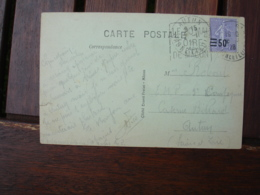 Daguin Macon Foire 1928 Flamme Sur Lettre - Marcophilie (Lettres)