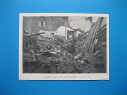 (1907) INONDATIONS DANS LE MIDI : A Servian, Ruines D'une Maison écroulée - Alte Papiere