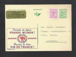 PUBLIBEL N° 2491 N  Drink De Fijne Franse Wijnen  (591) - Publibels