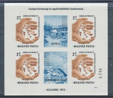 1973. European Security And Cooperation Conference (I.) - Helsinki- Block - Imperforate - Ungebraucht