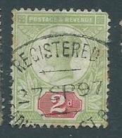 Grande Bretagne 1887-1900 Yvt 94 Oblteration Cardiff - 1840-1901 (Victoria)