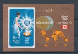 1973. Olympic Medalists (II.) - Münich - Block - L - Imperforate - Ungebraucht