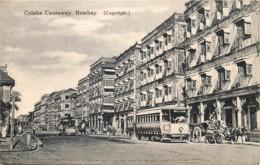 Inde - Bombay - Colaba Causeway - Tram N° 13 - India