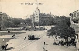 Inde - Bombay - Une Place - Inde