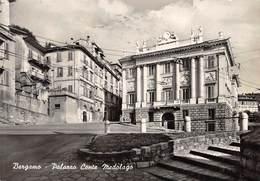 "M08049 ""BERGAMO-PALAZZO CONTE MEDOLAGO""-CARTOLINA POSTALE ORIGINALE SPEDITA 1969 - Bergamo"