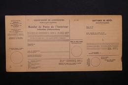 LUXEMBOURG - Mandat De Poste Non Utilisé , Période 1930 - L 28395 - Luxembourg