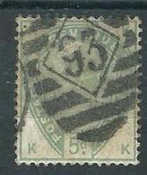 Grande Bretagne 1887-1900 Yvt 82 Belle Obliteration - Used Stamps
