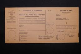 LUXEMBOURG - Mandat De Poste Non Utilisé , Période 1930 - L 28396 - Luxembourg