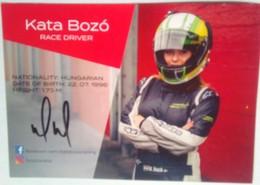 Kata Bozo  Signed Card - Authographs