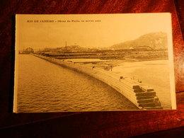 15659) RIO DE JANEIRO OBRAS DO PORTO OS NOVOS CAES NON VIAGGIATA 1910 CIRCA FOTO DI MARC FERREZ RUA S. JOSE' - Rio De Janeiro