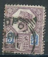 Grande Bretagne 1887-1900 Yvt 99 - Used Stamps