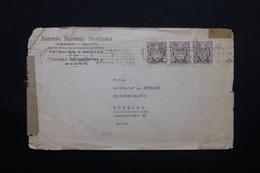 ESPAGNE - Enveloppe Commerciale De Madrid Pour La Suisse En 1944 Avec Contrôles Postaux - L 28399 - Marques De Censures Nationalistes