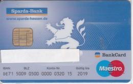 TARJETA DE BANCO SPARDA BANK (CREDITCARD-BANK-VISA) (CHIP-PUCE) - Unclassified