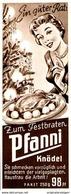 Original-Werbung/ Anzeige 1957 - PFANNI KNÖDEL  - Ca. 60 X 170 Mm - Pubblicitari