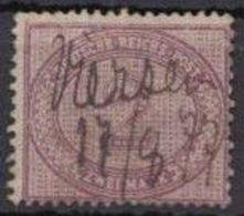 MiNr. 37 A, Sauberer Federzug, 1877 - Used Stamps
