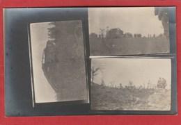 CPA: Guerre 1914/1918 - Carte-photo - Tanks - Weltkrieg 1914-18