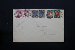 ALLEMAGNE - Enveloppe De Weimar Par Avion En 1919 Pour Hannover - L 28406 - Germania