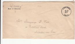 G.B. / London / Bank Of England / Paid Marks - 1902-1951 (Könige)