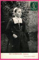 La Feuillée - Costume - Jeune Fille - Folklore - Collection JONCOUR - 1906 - Altri Comuni