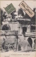 33 Blaye - Cpa / Citadelle - Porte Nationale. Circulé 1917. - Blaye