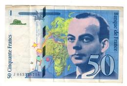 France 50 Francs 1997 - 1992-2000 Ultima Gama