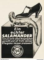 Original-Werbung/ Anzeige 1928 - SALAMANDER SCHUHE - Ca. 80 X 115 Mm - Pubblicitari