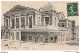 CE1 -  MASCARA  -  LE THEATRE  -  2 SCANS - Other Cities