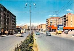 """0454 """"CASCINE VICA - RIVOLI (TO) - CORSO TORINO"""" SUPERMERCATO STANDA, AUTO ANNI '50/60. CART. ORIG. NON SPED. - Autres Villes"""