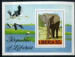 LIBERIA ( BLOC ) : Y&T  81  BLOC  NEUF  SANS  TRACE  DE  CARNIERE  . - Liberia