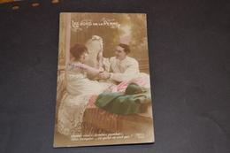 Carte Postale 1914/18  Patriotique Les Joies De La Perm - Patriotiques