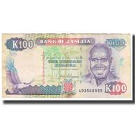 Billet, Zambie, 100 Kwacha, KM:34a, B - Zambie