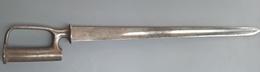 Rare Sabre-Baïonnette GB Mle 1842 - Armes Blanches