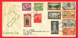 Neuseeland, 1946, FDC - 1907-1947 Dominion