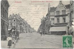 Oostende   *  Le Boulevard Du Midi , Petit Paris  (VG - Delhaize) - Oostende