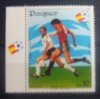 Paraguay. Soccer. Football. 1982 World Cup. Stamp. MNH ** - Fußball-Weltmeisterschaft