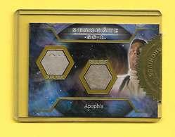 RARE Trading Cards SG1 Stargate La Porte Des étoiles Costumes Apophis Dual Relic Sous Blister - Cinéma & TV