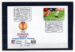 BRD, 2010, Brief Mit Michel 2650 Und Sonderstempel, Endspiel Europa-League In Hamburg - Covers