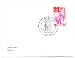 HERALDIQUE = 19 USSEL 1976 = CACHET PREMIER JOUR N° 1872 ARMOIRIES - 1970-1979