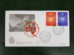 (35617) F.D.C. SAN MARINO  1978 - FDC
