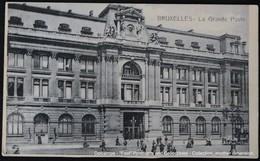 Bruxelles Brussel Brussels La Grande Poste Post - Poste & Facteurs