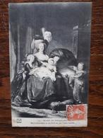 L19/449 Musée De Versailles. Marie Antoinette Et Ses Enfants Par Vigee Lebrun - Museum
