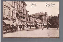 ROMANIA Bucuresti Calea Victoriei  1919 OLD POSTCARD - Roumanie