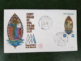 (35643) F.D.C. SAN MARINO  1977 - FDC