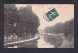 Vente Immediate Saint Sebastien Maxeville (54) Le Canal ( Peniche Batellerie Ed. Hognon) - Maxeville