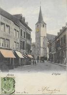 ARLON ..-- Nels 31 , N° 4 . 1902 Vers NANCY ( Melle Louise GANTOIS ) . Voir Verso . - Arlon