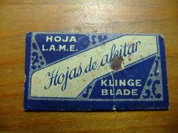 HOJA DE AFEITAR - HOJA L.A.M.E. Klinge Blade - Hojas De Afeitar