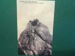 Cartolina Souvenir De La Haute Montagne - Un Repos à L'Alguille  - 1946 Ca. - Non Classificati
