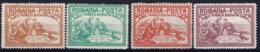 Romenia : Mi 169 - 172 MH/* Flz/ Charniere 1906 - 1881-1918: Charles I