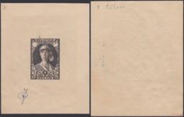 """Belgique 1931 - Essai De Bast """" Reine Elisabeth """" (DD) DC 2984 - Proofs & Reprints"""