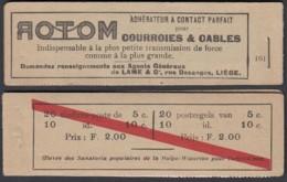 Belgique 1914 - Carnet A10a Xx - F 2.00  (DD) DC 2991 - Booklets 1907-1941